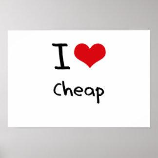 Amo barato poster