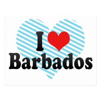 Amo Barbados Postal