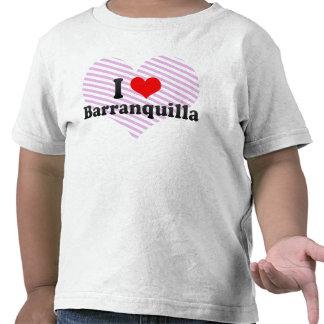 Amo Barranquilla, Colombia Camisetas