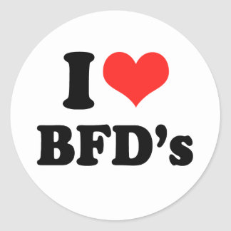 AMO BFDS png Pegatinas Redondas