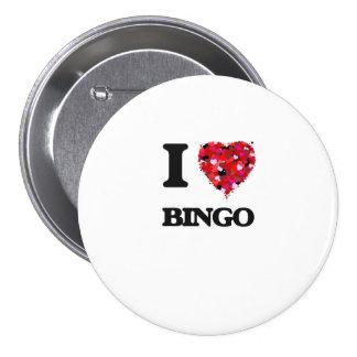 Amo bingo chapa redonda 7 cm