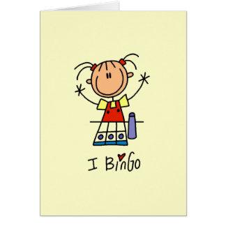 Amo bingo tarjeta pequeña