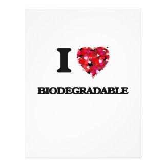 Amo biodegradable folleto 21,6 x 28 cm