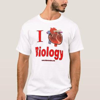 Amo biología camiseta