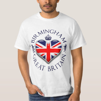 Amo Birmingham Camiseta
