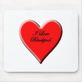 Amo Blackpool Alfombrilla De Ratón