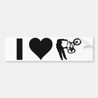 Amo BMX Pegatina Para Coche