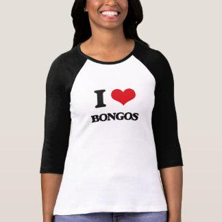 Amo bongos camisetas
