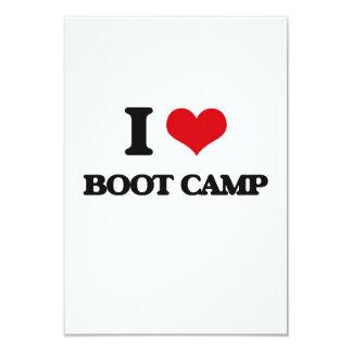 Amo Boot Camp Invitación 8,9 X 12,7 Cm