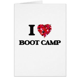 Amo Boot Camp Tarjeta De Felicitación