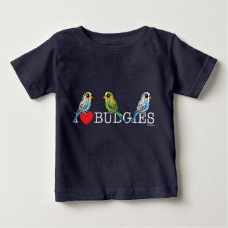 Amo Budgies Camiseta De Bebé