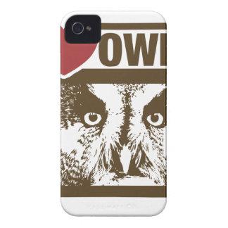 Amo búhos carcasa para iPhone 4 de Case-Mate