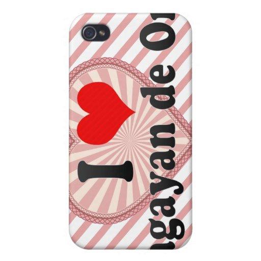 Amo Cagayan de Oro, Filipinas iPhone 4 Carcasas
