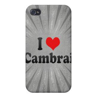 Amo Cambrai Francia iPhone 4 Cárcasas