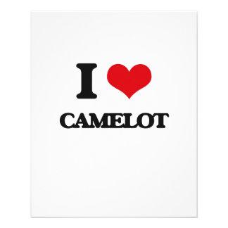 Amo Camelot Folleto 11,4 X 14,2 Cm