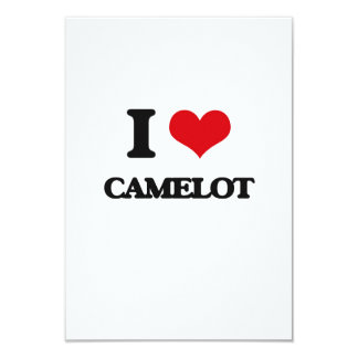 Amo Camelot Invitación 8,9 X 12,7 Cm