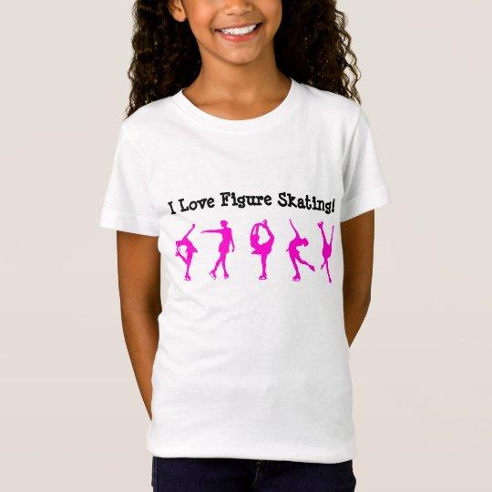 Amo camisa del patinaje artístico - PATINADORES DE