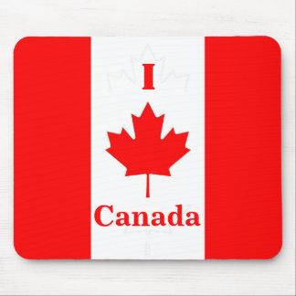 Amo Canadá Mousepad Alfombrilla De Ratón