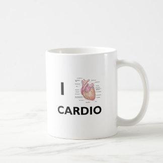 Amo cardiio taza de café