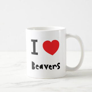 Amo castores tazas