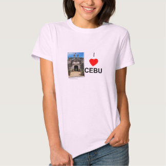 Amo Cebú (fuerte San Pedro) Camiseta