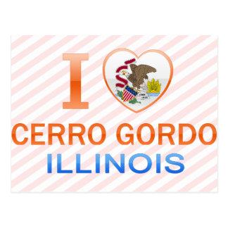 Amo Cerro Gordo, IL Postales