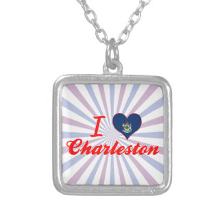 Amo Charleston, Maine Colgante Cuadrado