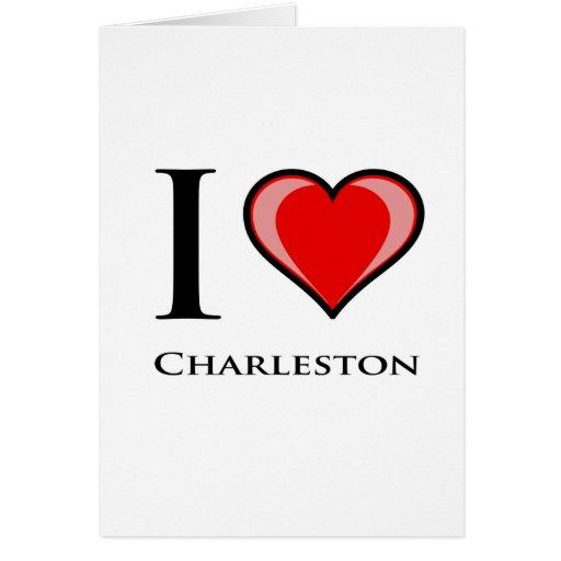 Amo Charleston Tarjetón