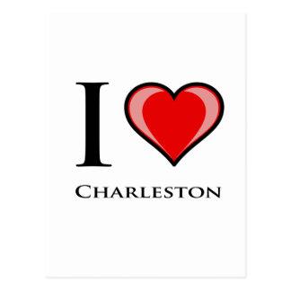 Amo Charleston Tarjetas Postales