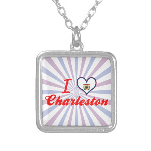 Amo Charleston, Virginia Occidental Grimpolas Personalizadas