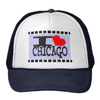 Amo Chicago    - gorra