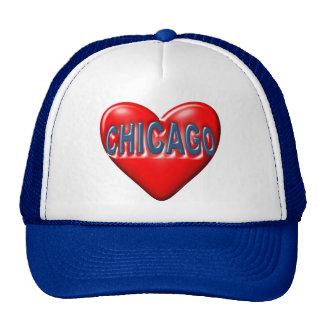 Amo Chicago Gorras