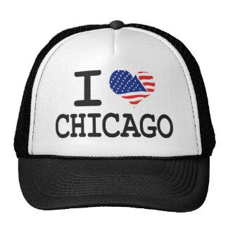 Amo Chicago Gorras De Camionero