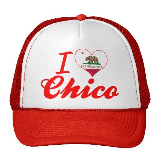 Amo Chico, California Gorras De Camionero