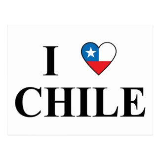 Amo Chile Postales