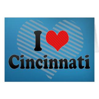 Amo Cincinnati Tarjeta