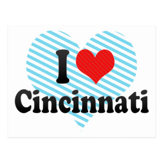 Amo Cincinnati Tarjetas Postales