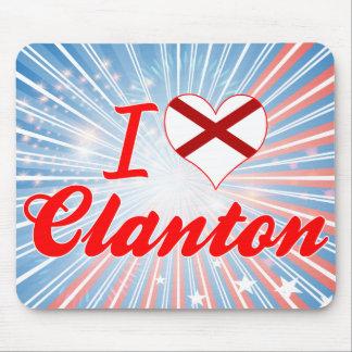 Amo Clanton, Alabama Alfombrilla De Ratón