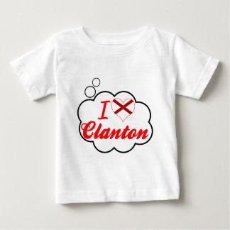 Amo Clanton, Alabama Camiseta