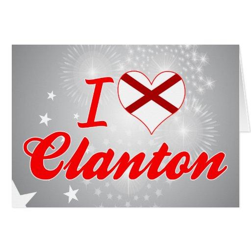 Amo Clanton, Alabama Tarjeton