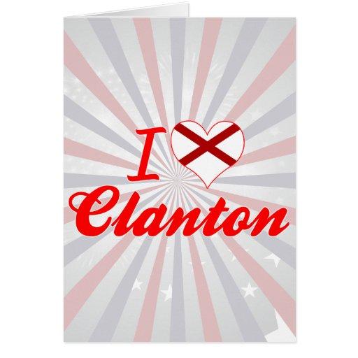 Amo Clanton, Alabama Felicitaciones