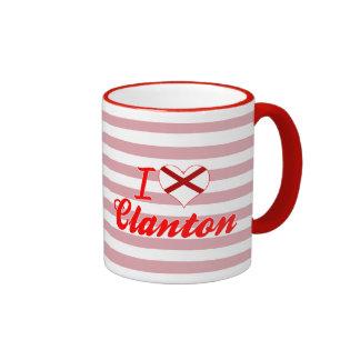 Amo Clanton, Alabama Taza A Dos Colores
