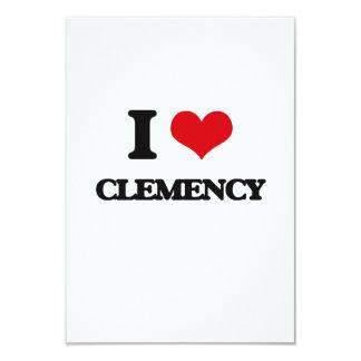Amo clemencia invitación 8,9 x 12,7 cm