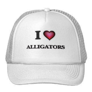Amo cocodrilos gorras