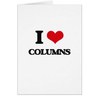 Amo columnas felicitacion