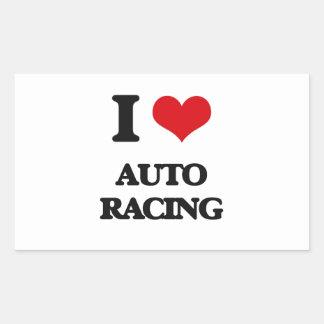 Amo competir con auto rectangular altavoz