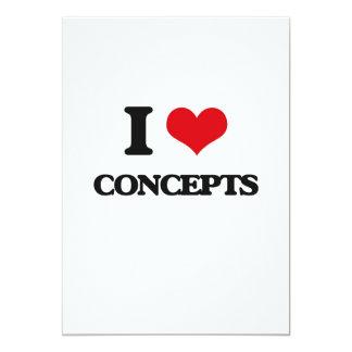 Amo conceptos invitación 12,7 x 17,8 cm
