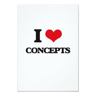 Amo conceptos invitación 8,9 x 12,7 cm