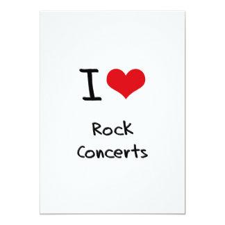 Amo conciertos de rock comunicado personal