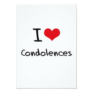 Amo condolencias anuncio